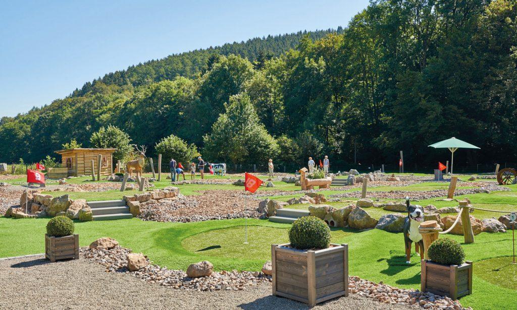Kallbach's Adventure Golf in der Eifel